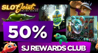 50% Match Bonus This Friday At SlotsJoint Casino!